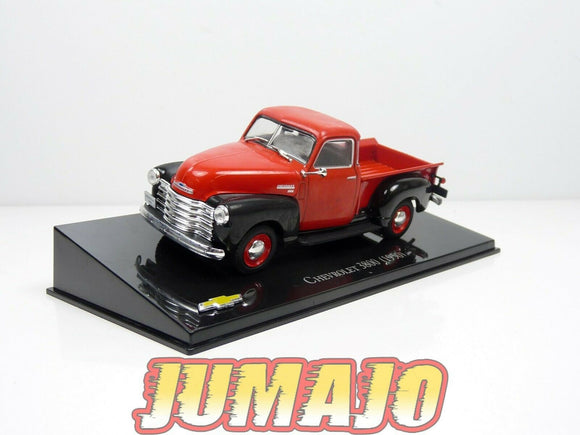CVT47 voiture 1/43 IXO Salvat BRESIL CHEVROLET : CHEVROLET 3800 (1950) pick-up