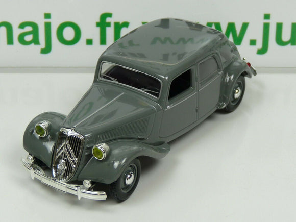 SOLZ Voiture 1/43 NOREV CITROËN TRACTION 15CV