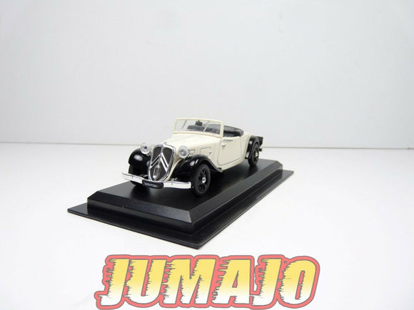 AME34 VOITURE 1/43 AMERCOM : Citroen Traction Roadster - 1939