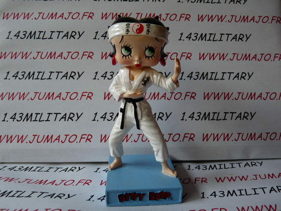 BB13 figurine Betty boop resine en blister MIB 15 cm environ : JUDO