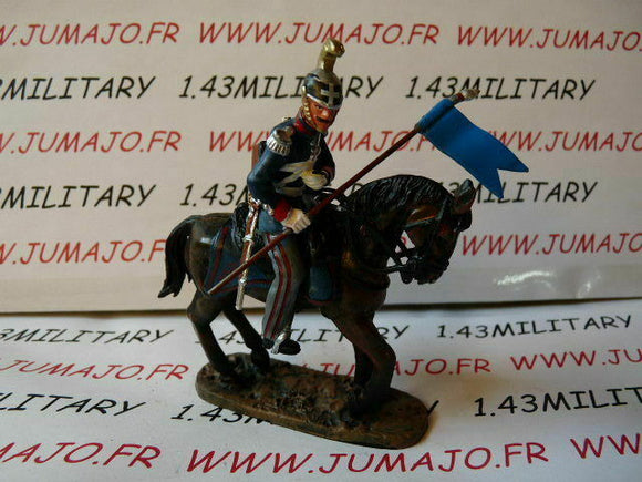 JK1A CAVALIER de plomb DEL PRADO 1/32 : EMPIRE Dragon Régiment Nizza 1844