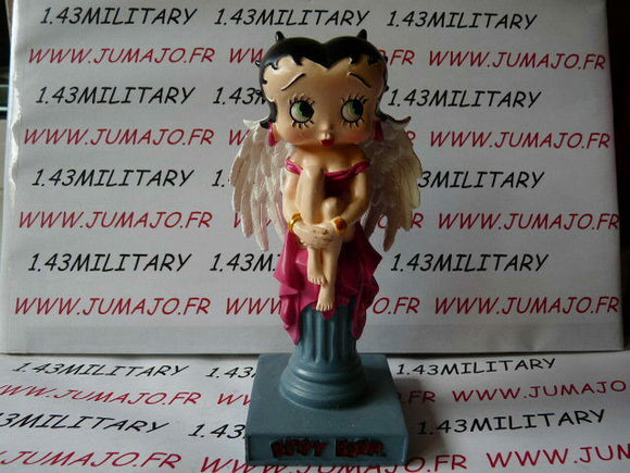 BB1K figurine Betty boop resine en blister MIB 15 cm environ : Ange sur pillier