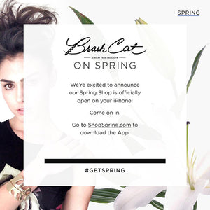 Brash Cat Is On Spring. Officially. Come visit. #GetSpring