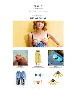 The Optimist | Spring