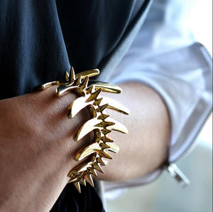 Fish Cuff with Spikes