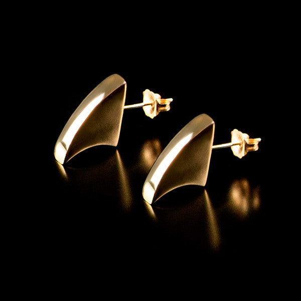 Fin Stud Earrings