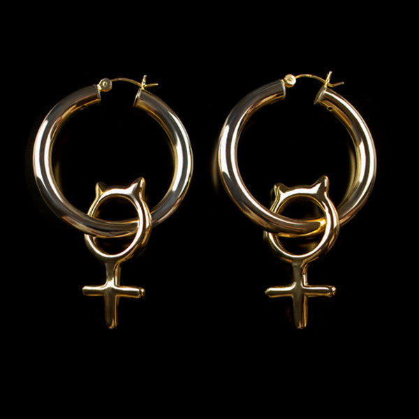 Girl Cat Hoops♀