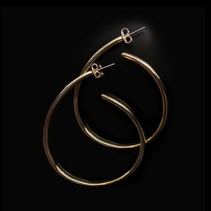 Wire Hoop Earrings *new*
