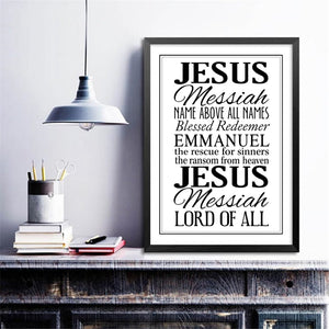 Christian Quote's Canvas Print