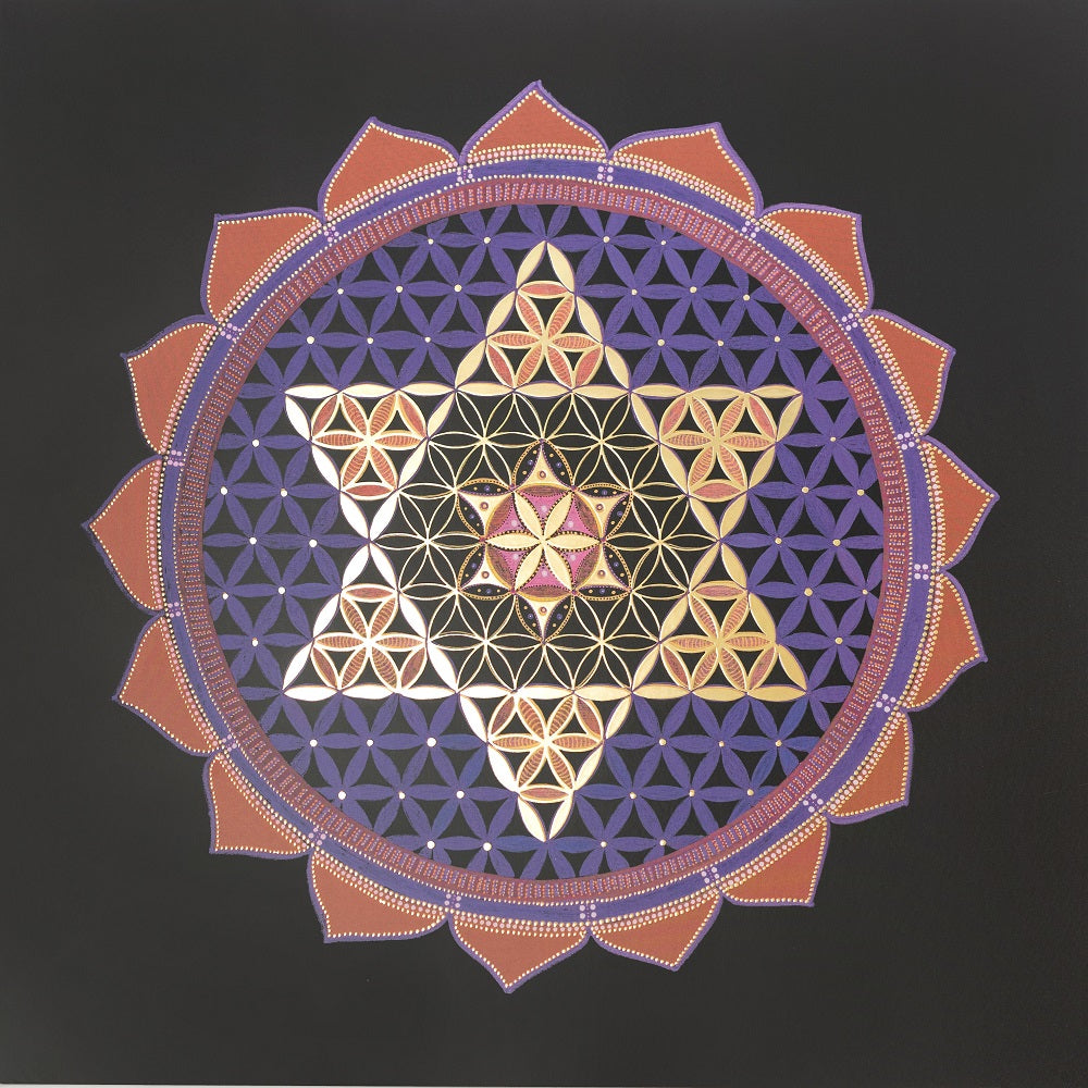 "~ Star of David Trio ~ 20""*20"""