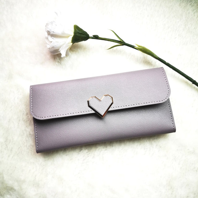 Lovet KissPers Long Purse in Lavender