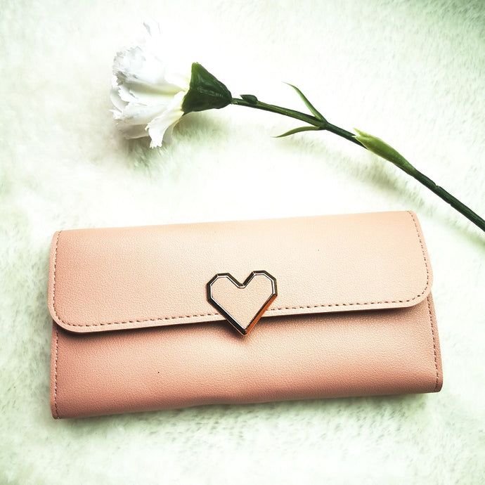 Lovet KissPers Long Purse in Pink