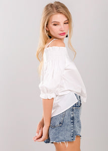 Stacie Top in White