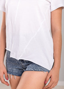 Phyllis Top in White