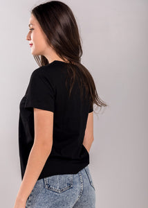 Phyllis Top in Black