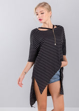 Load image into Gallery viewer, Shelby T-Shirt in Black Stripe