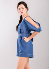 Load image into Gallery viewer, Harriet Playsuit in Blue