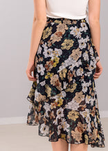 Load image into Gallery viewer, Cecily Floral Skirt in Dark