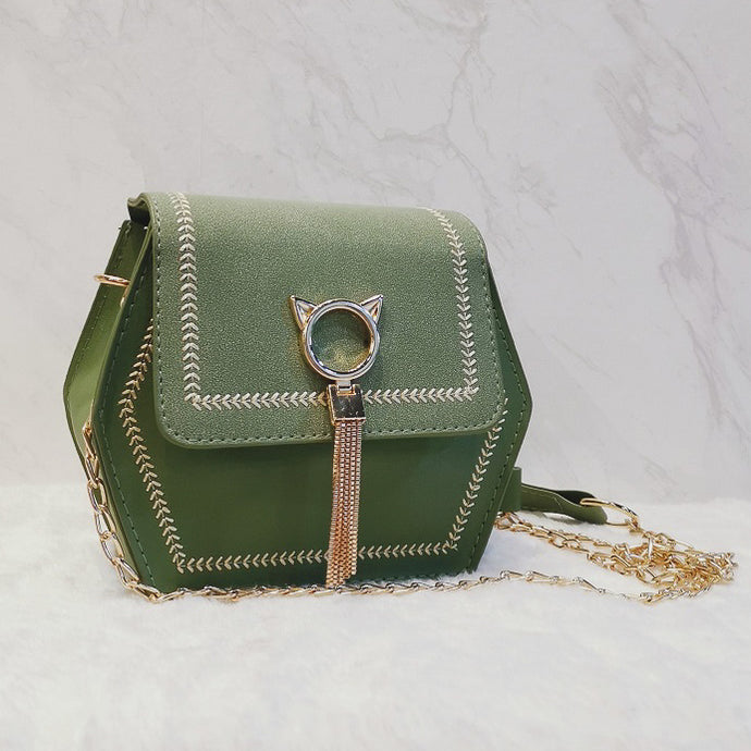 Kathy Shoulder Bag in Emerald