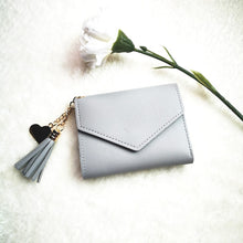Load image into Gallery viewer, Taszel KissPers Purse in Grey