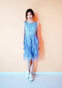 Winovla Dress in Blue