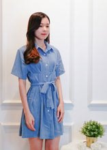 Load image into Gallery viewer, Malison Dress in Light Blue