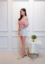 Load image into Gallery viewer, Eliana Ruffle Top in Pink