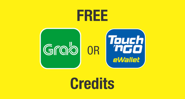 Get Rewarded with HP - Free Grab & Touch'n Go vouchers