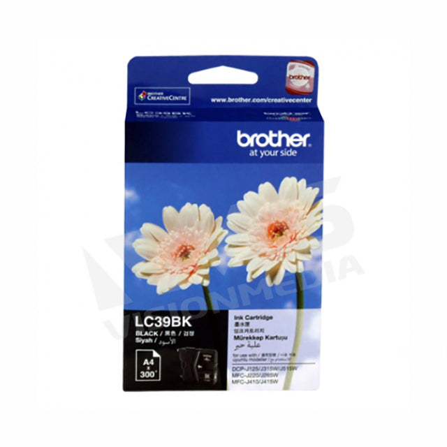 BROTHER BLACK INK CARTRIDGE (LC-39BK)