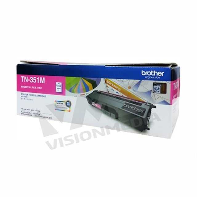 BROTHER MAGENTA TONER CARTRIDGE (TN-351M)