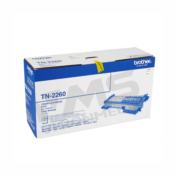 BROTHER BLACK TONER CARTRIDGE (TN-2260)