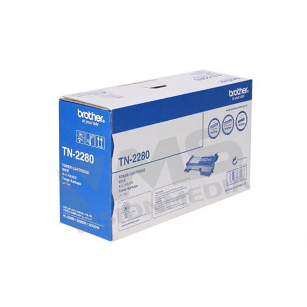 BROTHER BLACK TONER CARTRIDGE (TN-2280)