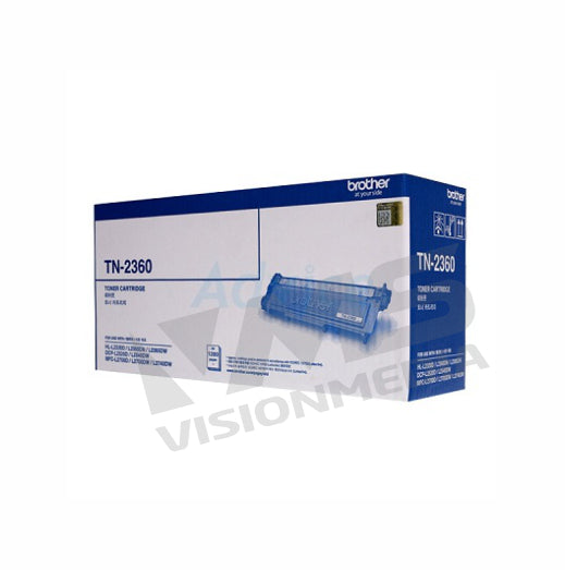 BROTHER BLACK TONER CARTRIDGE (TN-2360)