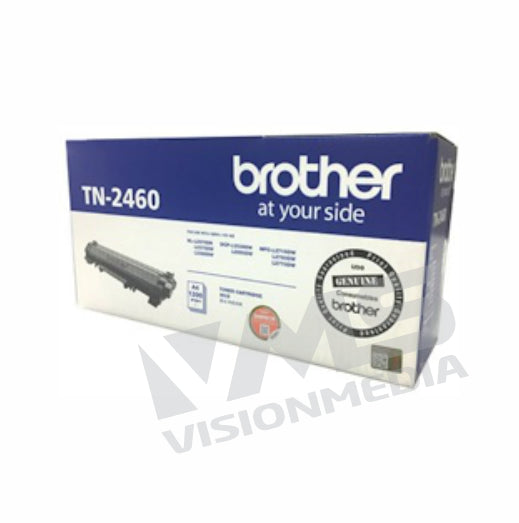 BROTHER BLACK TONER CARTRIDGE (TN-2460)