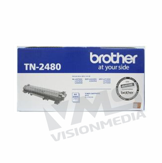 BROTHER BLACK TONER CARTRIDGE (TN-2480)
