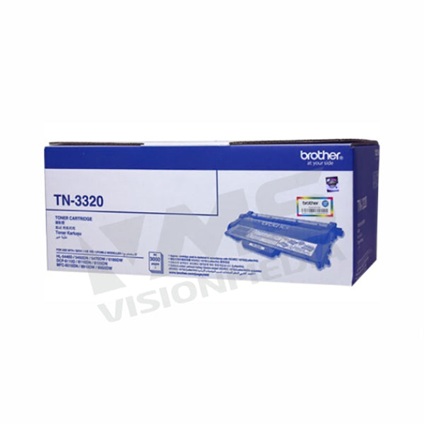 BROTHER BLACK TONER CARTRIDGE (TN-3320)