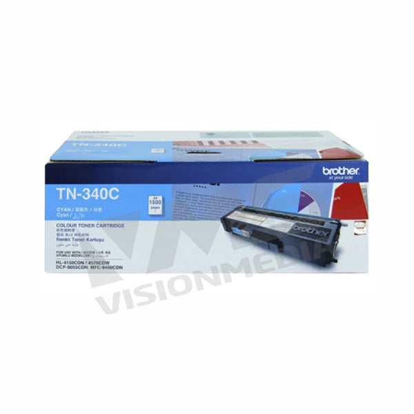 BROTHER CYAN TONER CARTRIDGE (TN-340C)