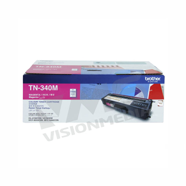 BROTHER MAGENTA TONER CARTRIDGE (TN-340M)
