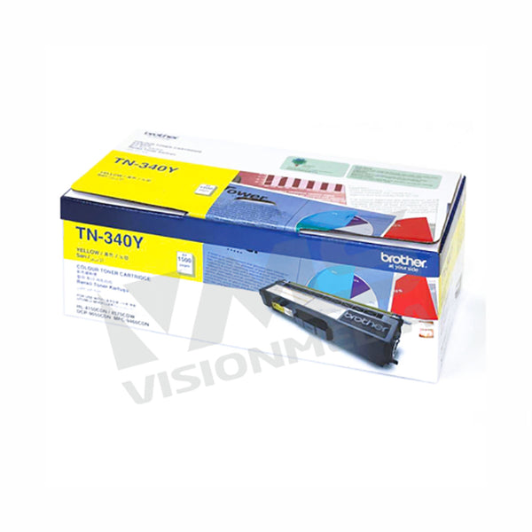 BROTHER YELLOW TONER CARTRIDGE (TN-340Y)