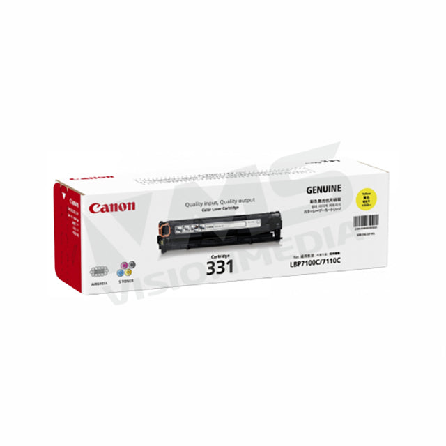 CANON YELLOW TONER CARTRIDGE (331)