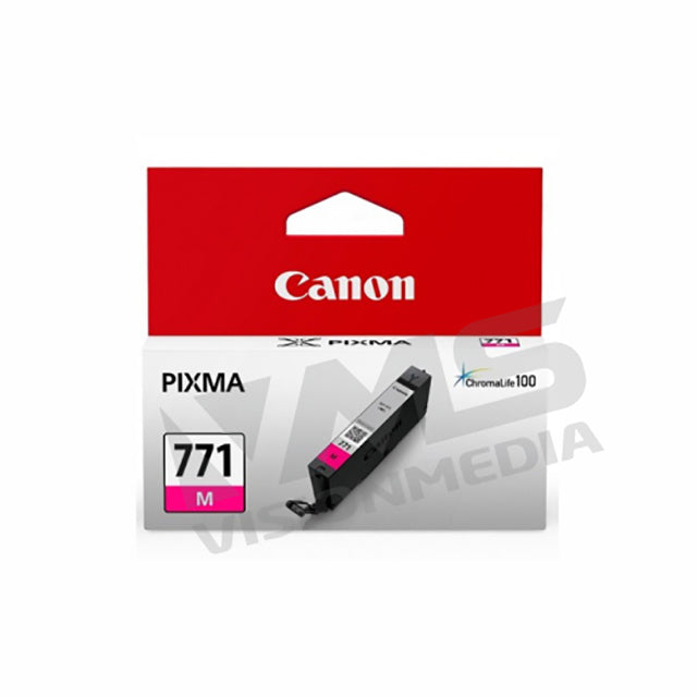 CANON MAGENTA DYE INK TANK (CLI-771M XL) (10.8ML)