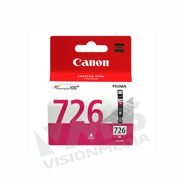 CANON MAGENTA INK CARTRIDGE (CLI-726M)