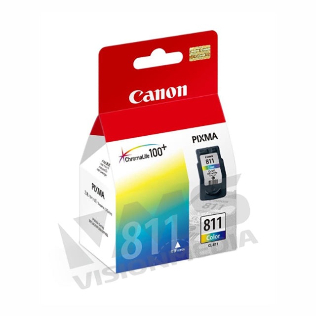 CANON COLOR FINE INK CARTRIDGE (CL-811)