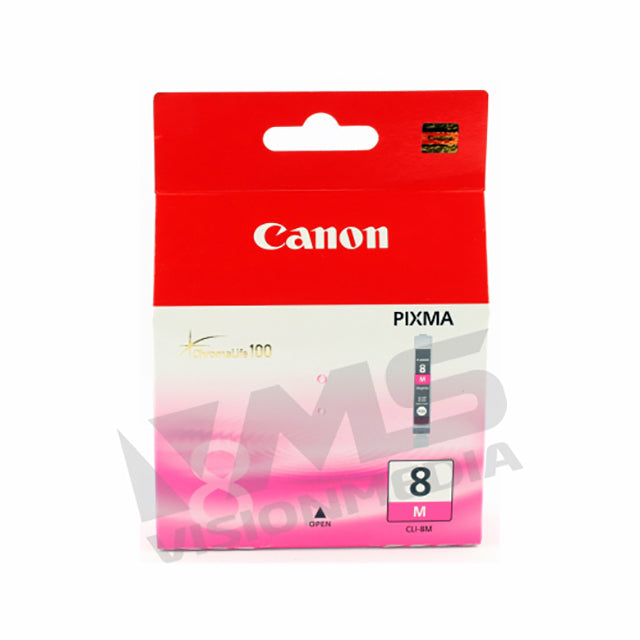 CANON MAGENTA INK CARTRIDGE (CLI-8M)