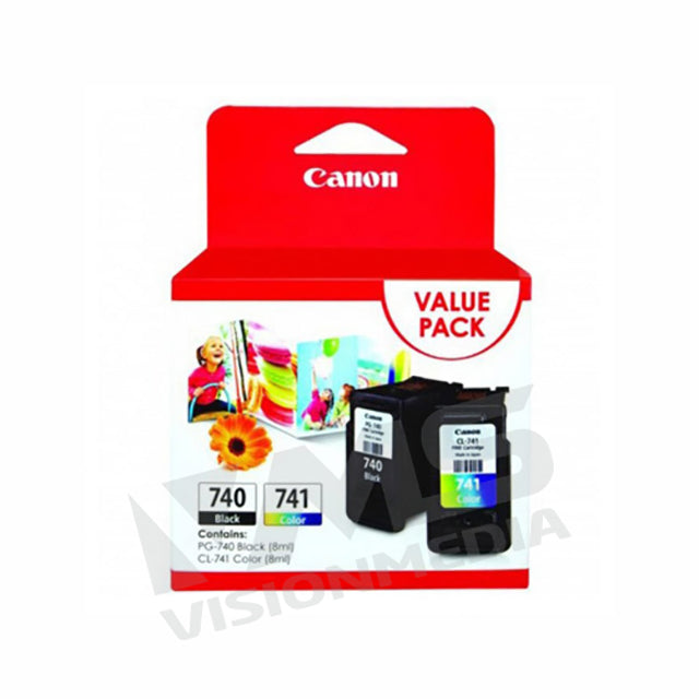 CANON FINE 11 VALUE PACK INK CARTRIDGE (PG-740 + CL-741)