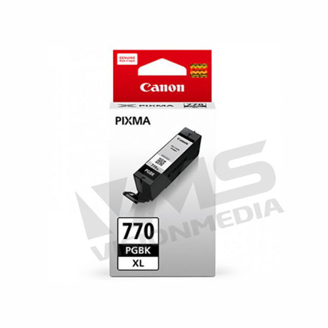 CANON BLACK PIGMENT INK TANK (PGI-770 XL)