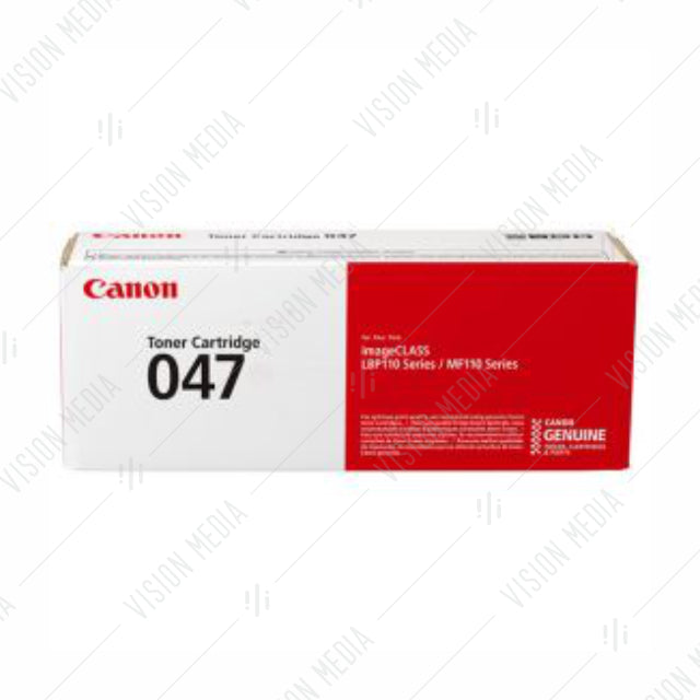 CANON BLACK TONER CARTRIDGE (047 BK)