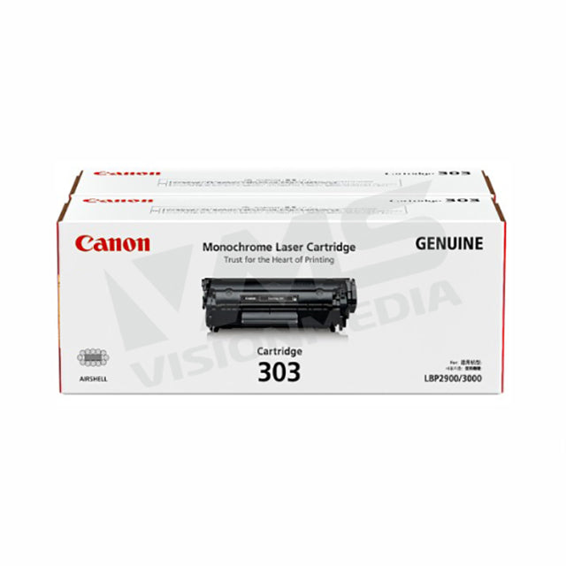 CANON TONER CARTRIDGE 303 TWIN PACK