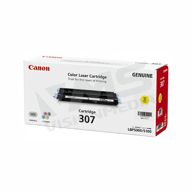 CANON YELLOW TONER CARTRIDGE (307)