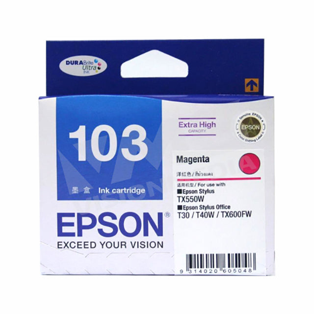 EPSON 103N MAGENTA INK CARTRIDGE (T103390)